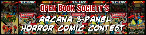 Calling writers & artists for OBS's Comic Book Contest!