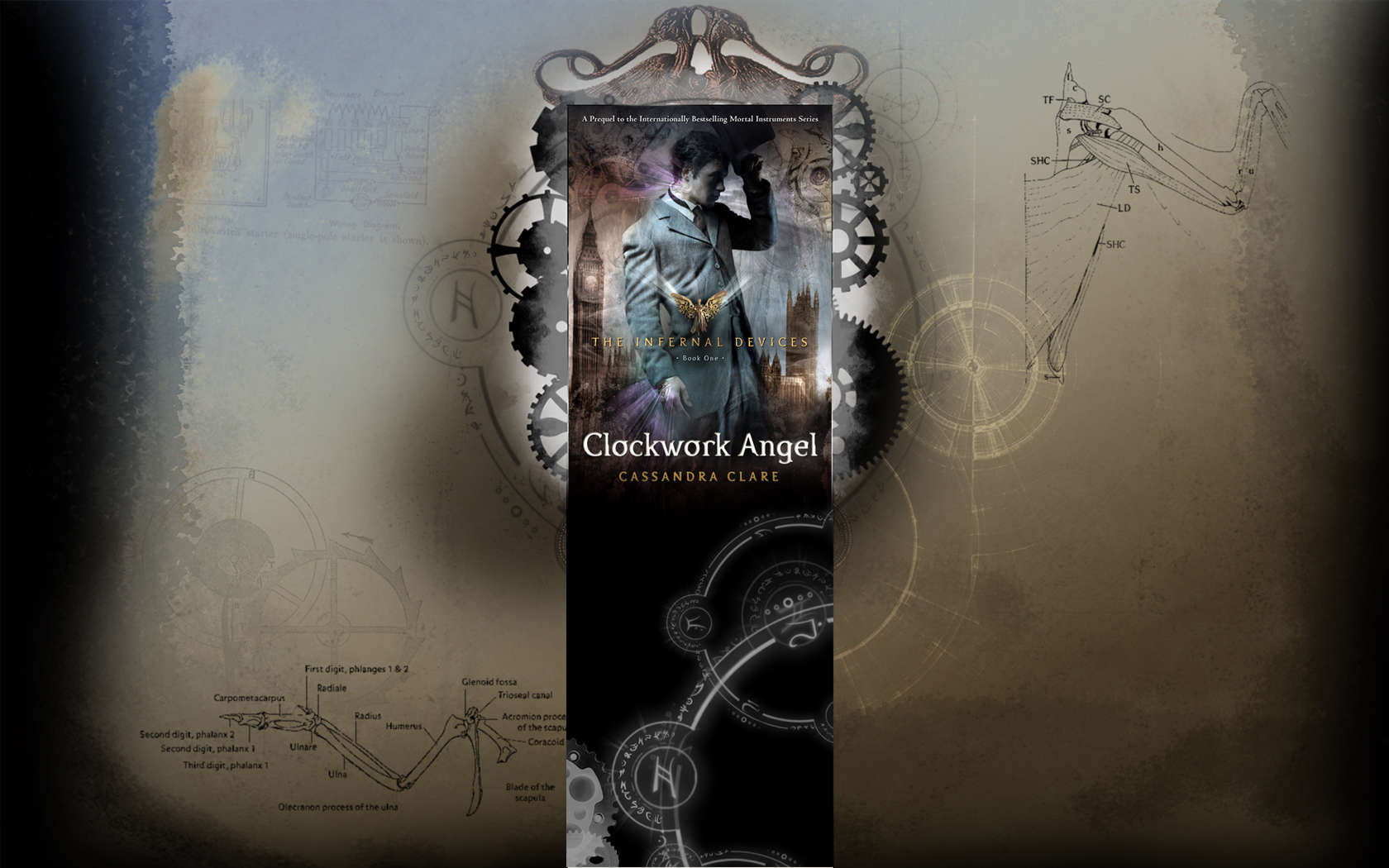 Clockwork Angel Desktop Wallpapers: Part 1 - Novel Novice