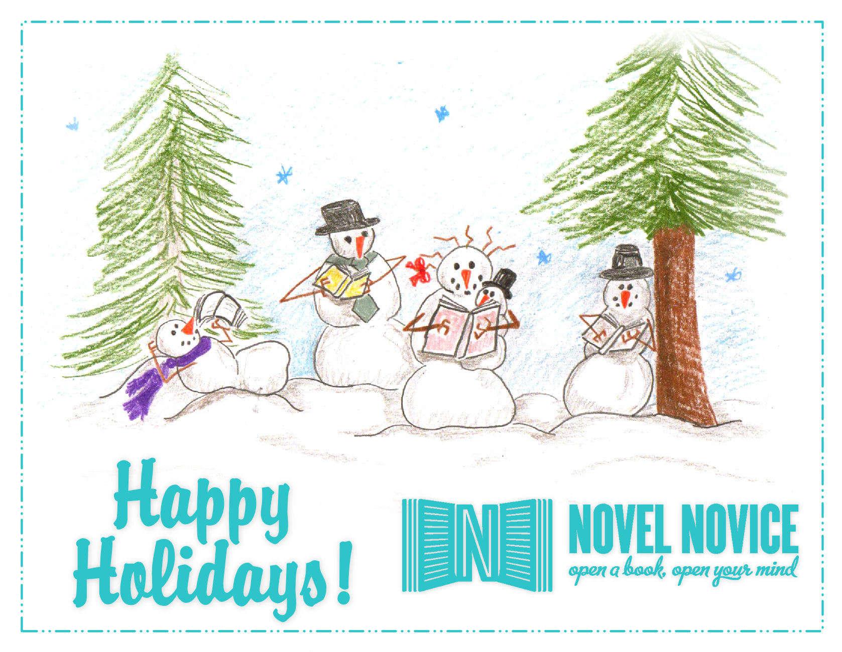 Happy Holidays from Everyone at Novel Novice