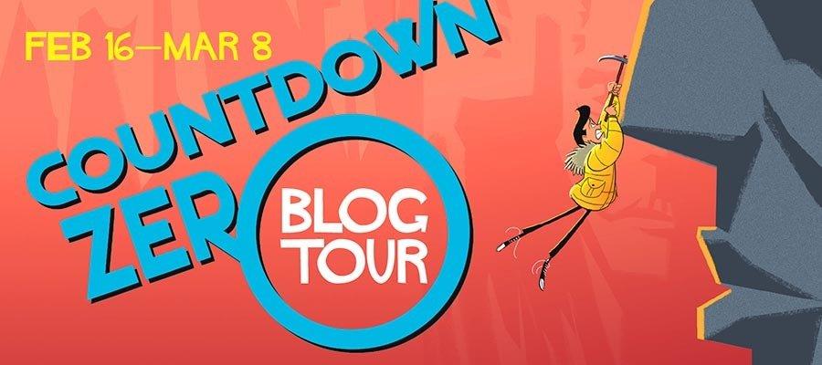Countdown Zero Blog Tour Giveaway