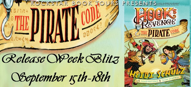 Release Week Contest: Hook's Revenge: The Pirate Code by Heidi Schulz