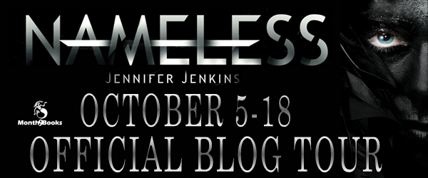 Jennifer Jenkins: Nameless Blog Tour Q&A + Contest