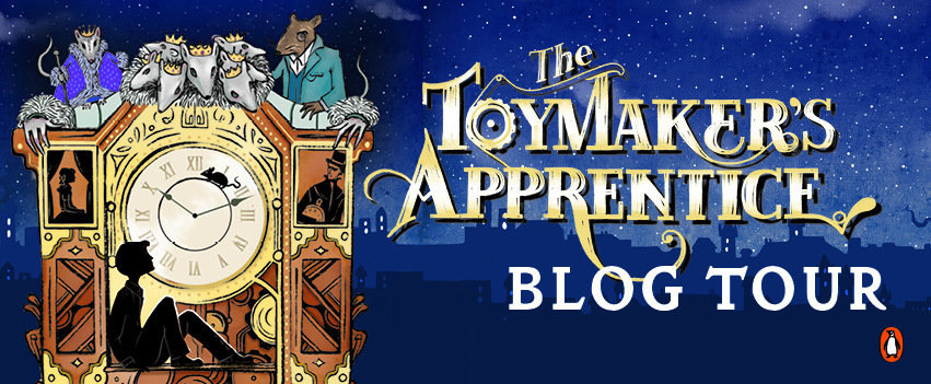 Sherri Smith: The Toymaker's Apprentice Blog Tour Q&A